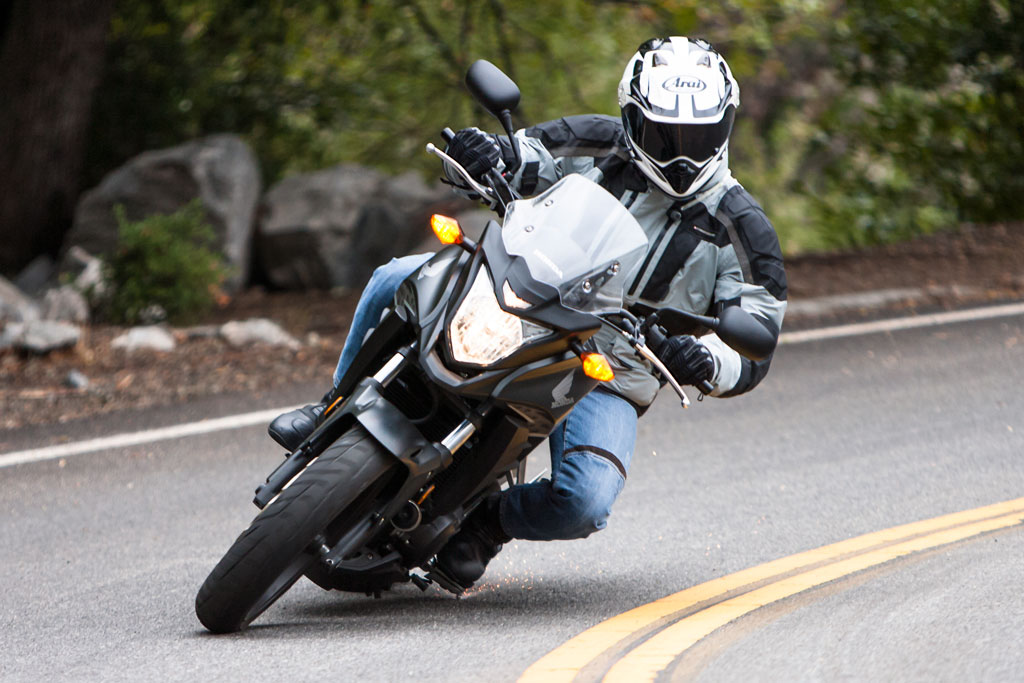 Motorcycle Cornering Clearance - What To Do When It Runs Out