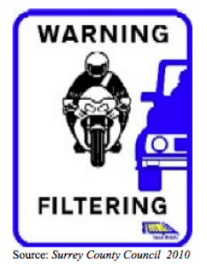 Motorcycle Filtering