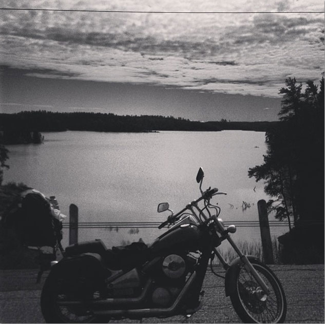 Motorcycle Lake Kenora