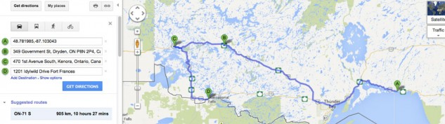Northwestern Ontario Motorcycle Route