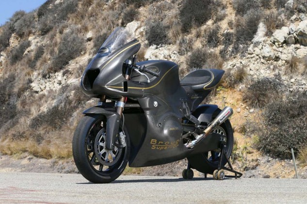 Coming soon to a Moto2 grid near you, the Taylormade/Brough Superior Moto2 racer.