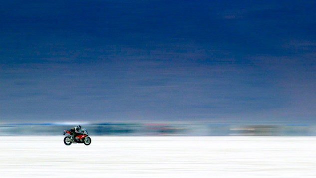 Bonneville racers are given extensive coverage in Why We Ride.