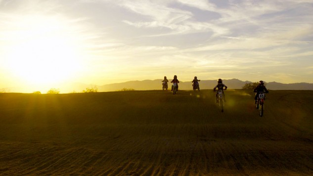 Kids on dirt bikes. What could be better?