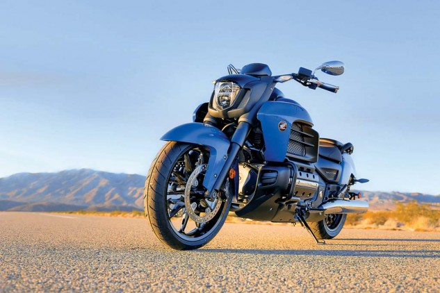 Cruise missile: The 2014 Honda Valkyrie is a bike that the faithful have been requesting for ten years.