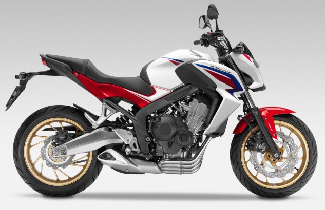 2014 Honda CB650F right side
