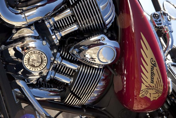 2014 Indian Chieftan Engine