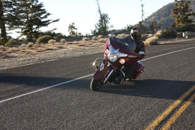 2014 Indian Chieftan Action Front