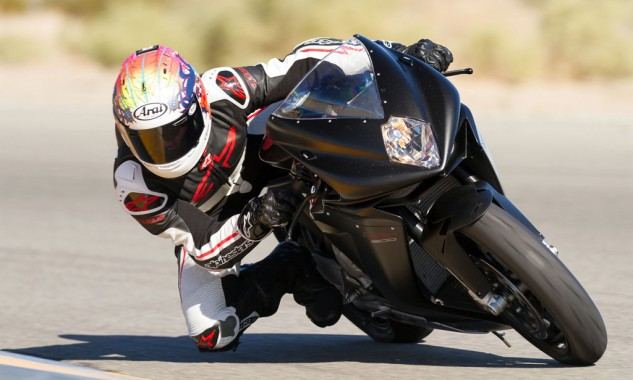 2014 MV Agusta F3 800 Action Cornering