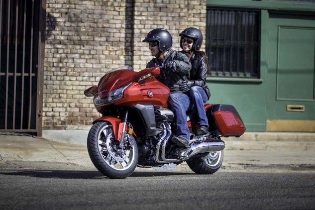 Even without the blurred faces of the spy shots, you should recognize this happy CTX1300 riding couple.