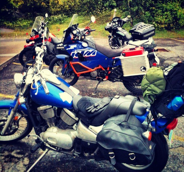Motorcycling in Algoma Country