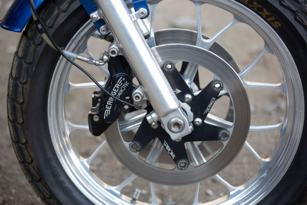2013 Triumph Bonneville Performance Street Tracker Front Wheel