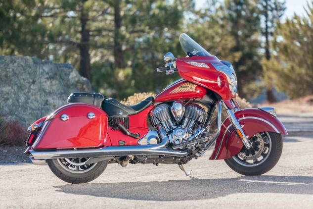 The Indian Chieftain has all you need to travel far and wide.