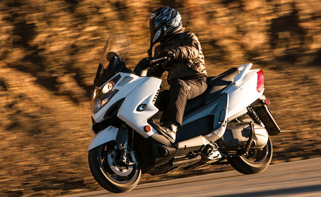 2014 Kymco MyRoad 700i Feature