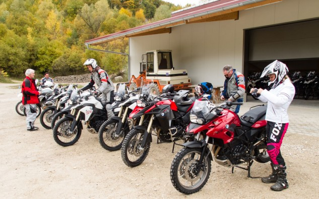 BMW Off-Road Training Bikes