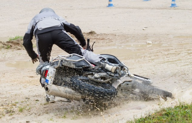 Off-Road Training Crash