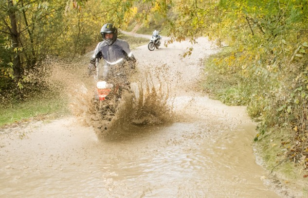 Off-Road Training Water Crossing