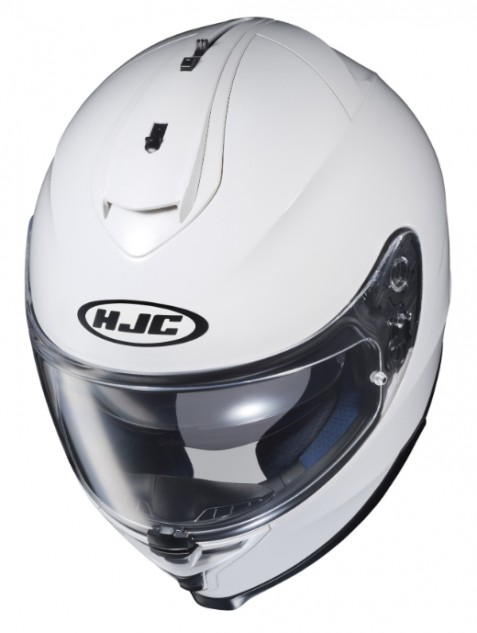 HJC IS-17 Solid White Top