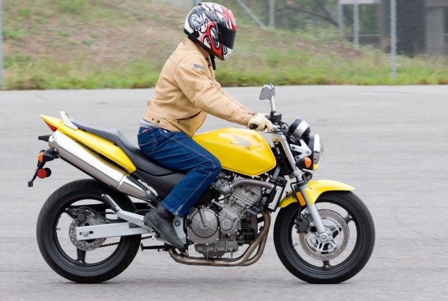 Motorcycle Braking Practice
