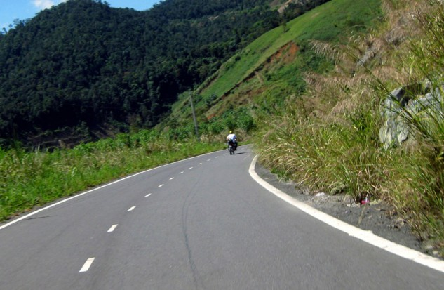 Vietnam Motorcycling Mountain Road