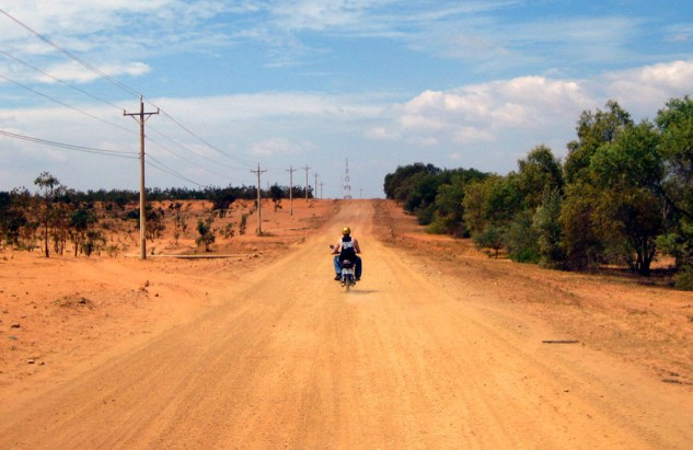 Vietnam Motorcycling Mui Ne Dirt Road