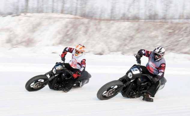 Brad Baker Jared Mees ice racing