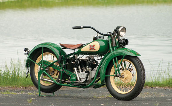 1930 Excelsior Super X Streamliner