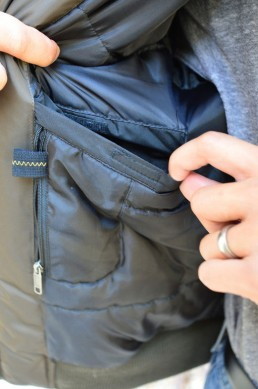 Rev'it Brera Jacket Inside Pocket