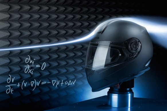 Schuberth Wind Tunnel Testing