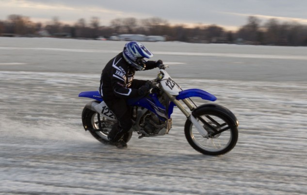 Tom Roderick Ice Racing