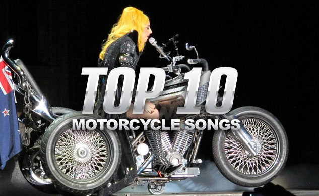 Top 10 Motorcycle Songs Feature