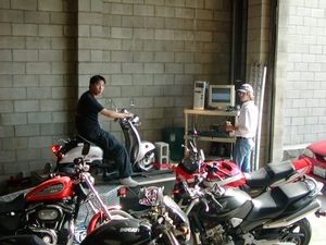 Putting a scooter on the dyno