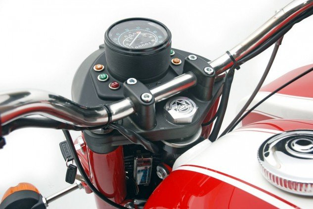 2014 Ural Solo sT headlight cluster
