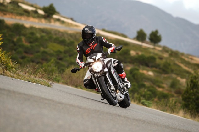 2014 MV Agusta Brutale 800 Dragster Action Road