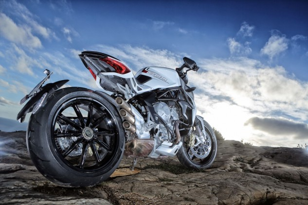 2014 MV Agusta Brutale 800 Dragster Beauty Rear