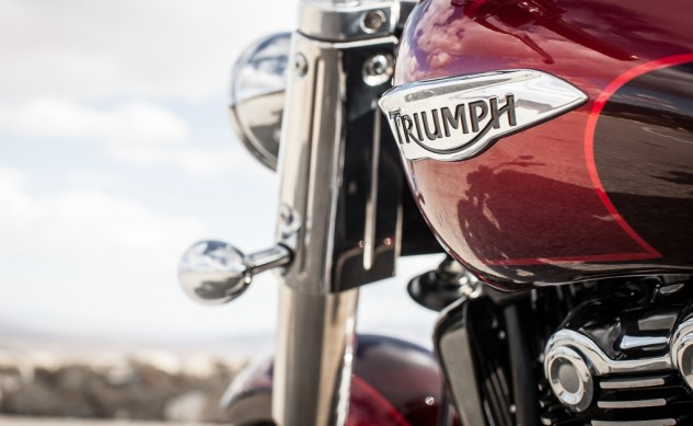 2014 Triumph Thunderbird Commander Badge