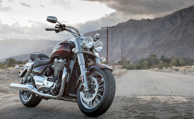 2014 Triumph Thunderbird Commander Beauty