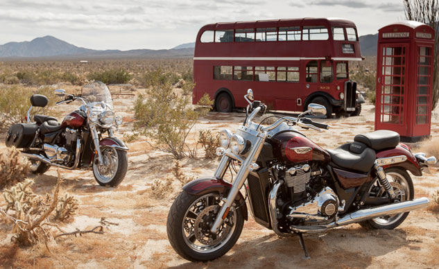 2014 Triumph Thunderbird LT and Commander Feature