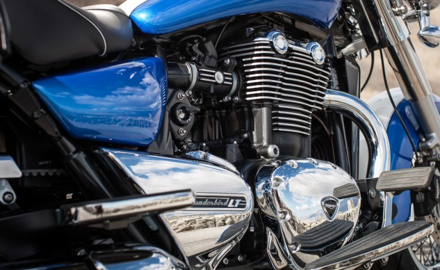 2014 Triumph Thunderbird LT Engine