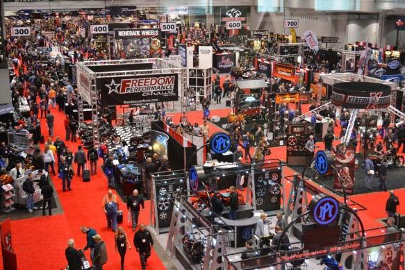 2014-v-twin-expo-Expo Big Attendance