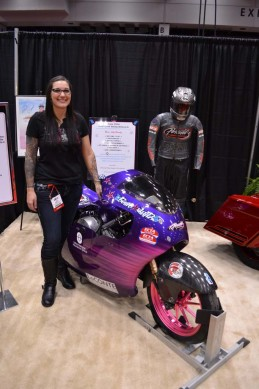 2014-v-twin-expo-Jody Perewitz 200mph Bike