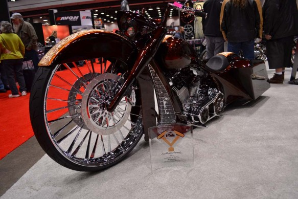 2014-v-twin-expo-Metal Sport Bike with Award