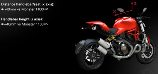 2014 Ducati Monster 1200 Rider Triangle
