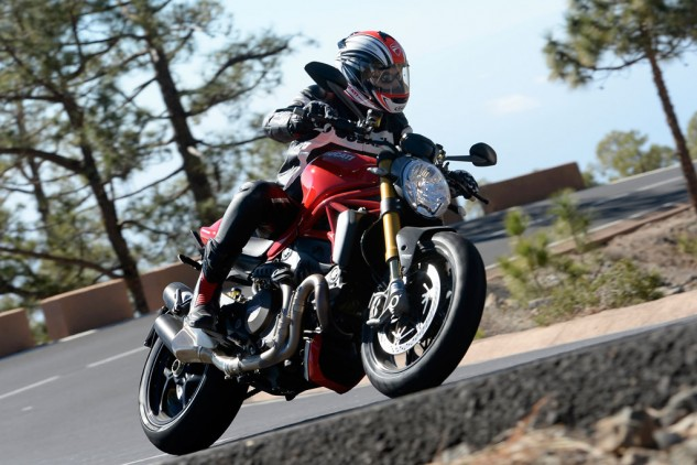 Claudio Domenicali Ducati Monster 1200