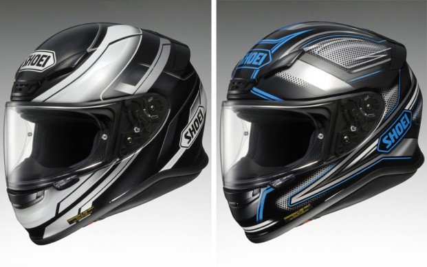 Shoei RF-1200 Mystify and Dominance