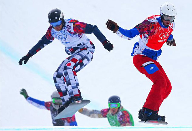 Sochi Snowboard Cross