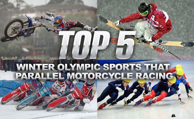 Top 5 Winter Olympic Sports Parrallel Motorcycle Racing
