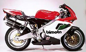 1997 Bimota 500 V Due press image