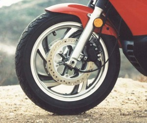 Honda Pacific Coast 800 front brake