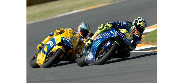 Rossi and Biaggi