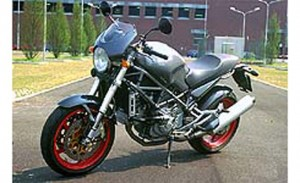 2001 Ducati Monster S4 left static profile